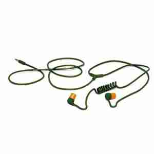 Aiaiai SWIRL Earphones in Green