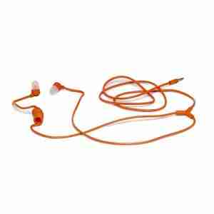 Aiaiai SWIRL Earphones in Orange