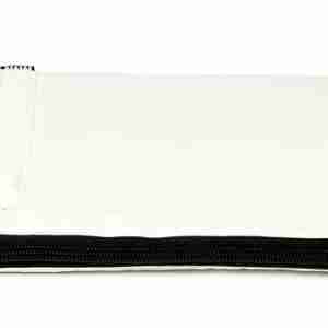 Aiaiai Laptop Reflex Sleeve 15 inch White with Black Zip