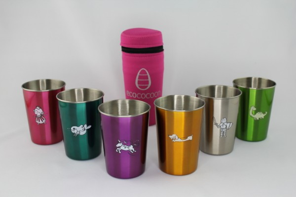 Ecococoon Mythical Anodised Cups