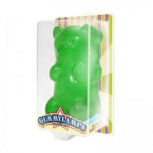 Green Gummy Bear in Package