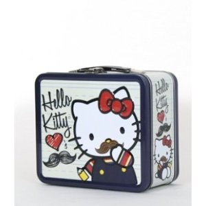 Hello kitty Moustache Lunchbox