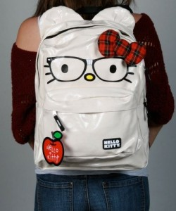 Hello Kitty Nerd Backpack by Loungefly