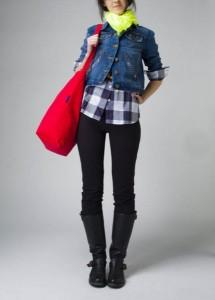 Baggu Red Totebag - Elegant Everday Bag