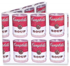 Dynomighty Campbell's Soup Wallet - Great Gift for Him
