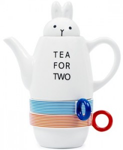 Tea for Two Rabbit Tea Set - Quirky Shinzi Katoh Bunny