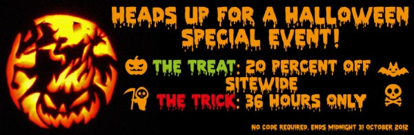 Halloween Sale October 2012