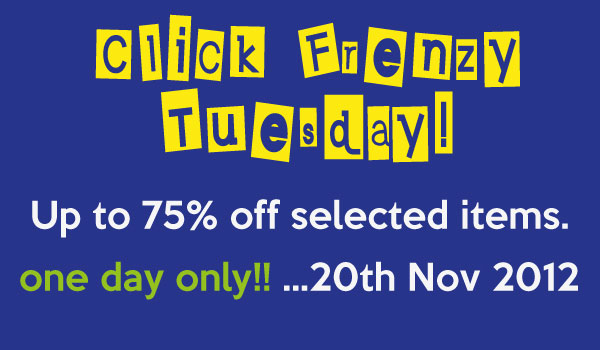 Click Frenzy Sale on Urbanities November 2012
