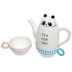Tea for Two Panda by Shinzi Katoh