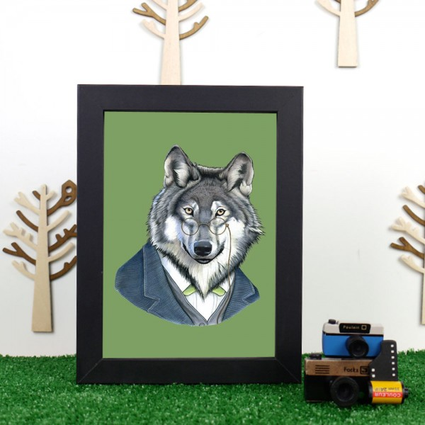 Well Dressed Wolf by Ryan Berkley