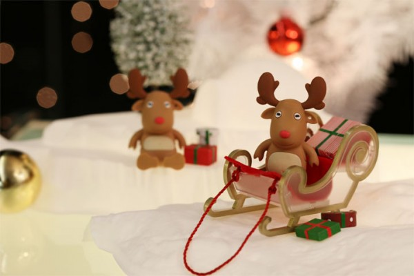 Reindeer USB Memory Driver - Christmas Themed Gift Idea