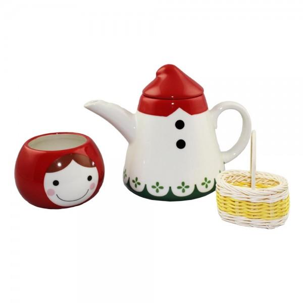 Little Red Riding Hood Tea for One Tea-Set