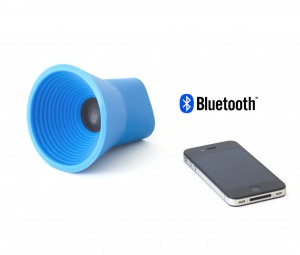 KAKKOII WOW Blue Portable Speaker