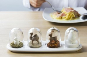 Qualy  Animal Parade four way spice shaker