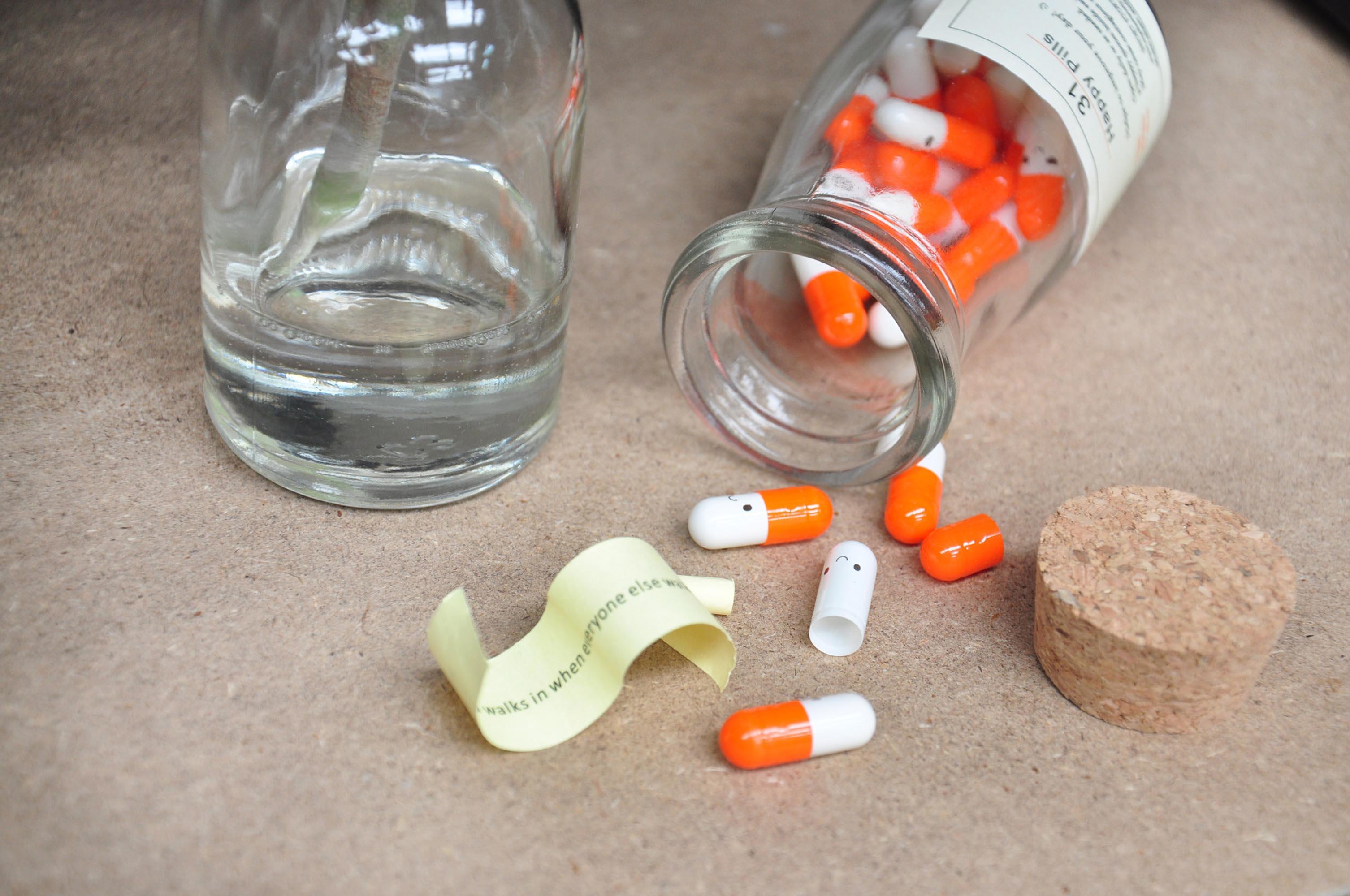 Happy Pills Gift Bottle - 31 Days of Inspiration