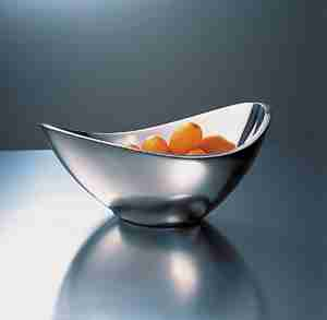 "Luxury Metal ""Butterfly"" Bowl 9 inch by Nambe"