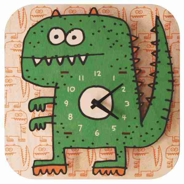 Popclox Dinosaur 3D Art Clock by Art Thingys