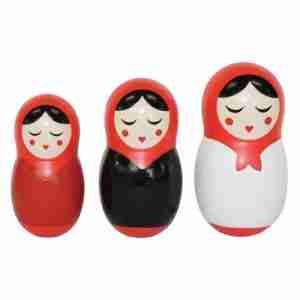 Babushka Dinner Dolls for Salt, Pepper and Toothpicks