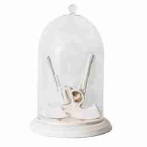 Bells of the Ball - Dueling Guns Bell Jar Jewellery Holder