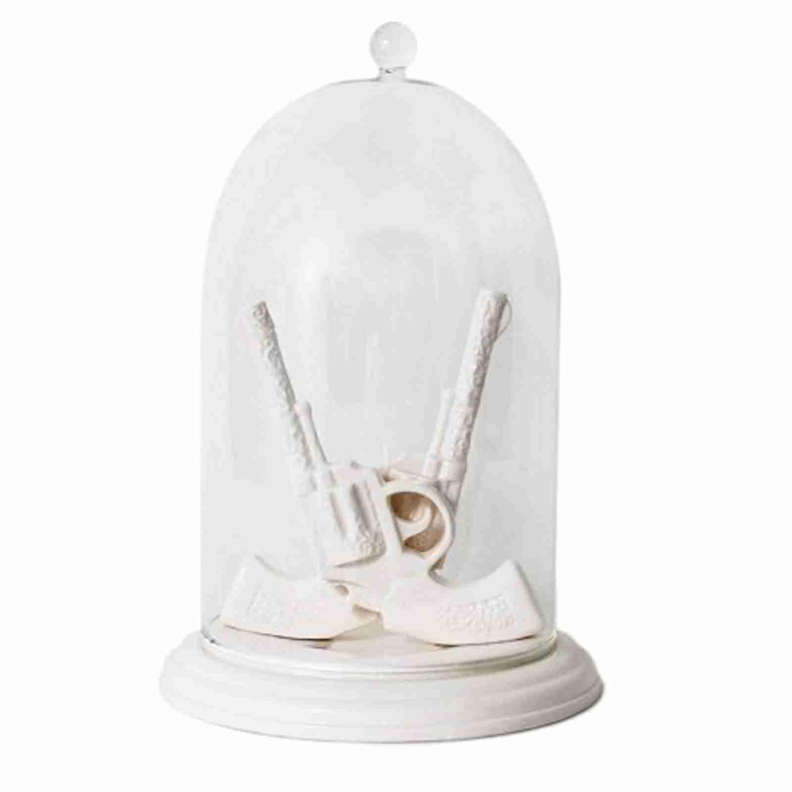 Bells of the Ball - Dueling Guns Bell Jar Jewellery Holder
