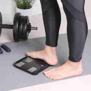 Belle Echell Sporty Multi-Function Body Analysis Scales - Black