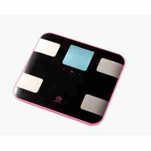 Belle Echell Sporty Multi-Function Body Analysis Scales - Black Pink