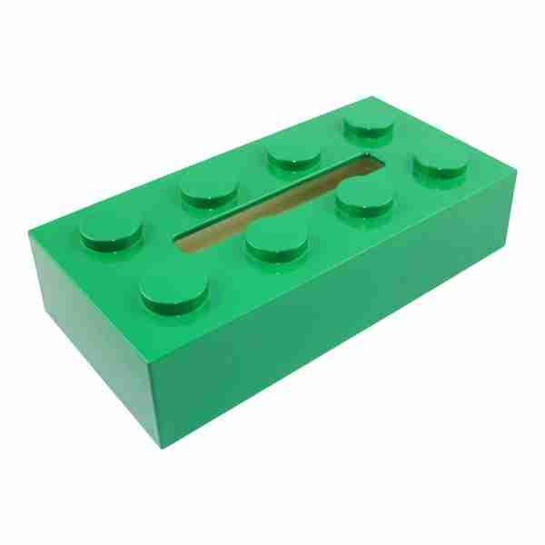 BLOCK Tissue Box - Green