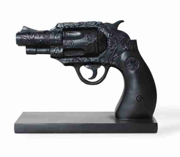 Duello Series Revolver Bookend