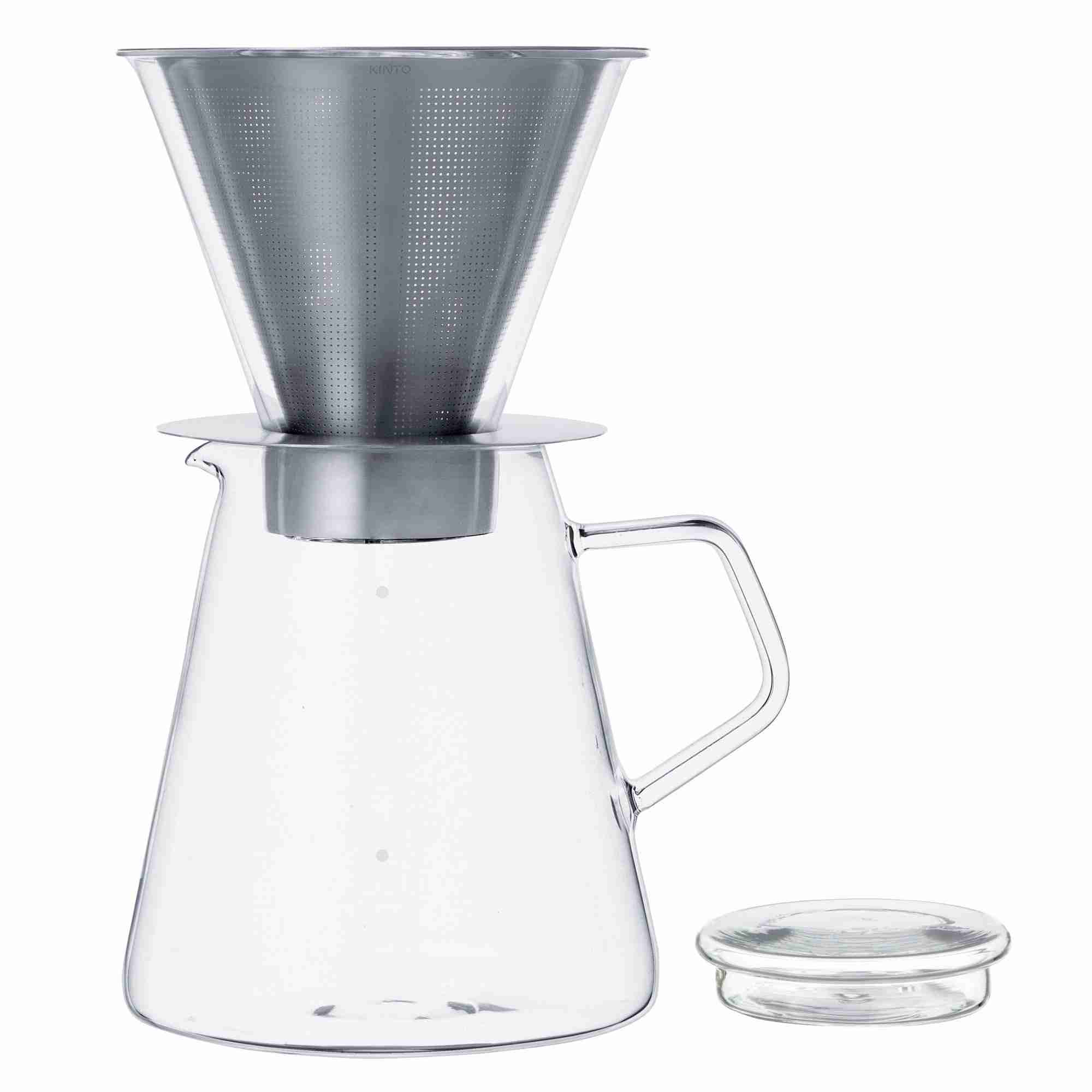 Carat Coffee Dripper and Pot by Kinto Japan