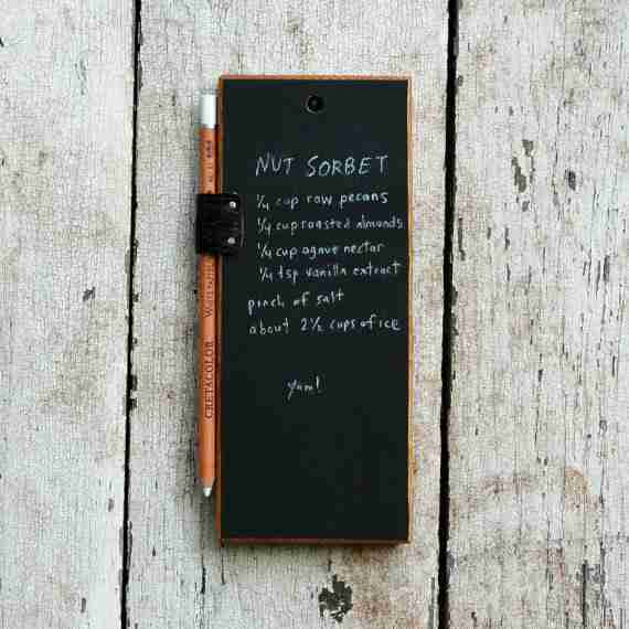 Chalk Tablet from Reclaimed Wood by Peg & Awl