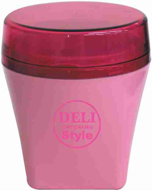 Delicup Lunchbox with Locking Lid - Pink