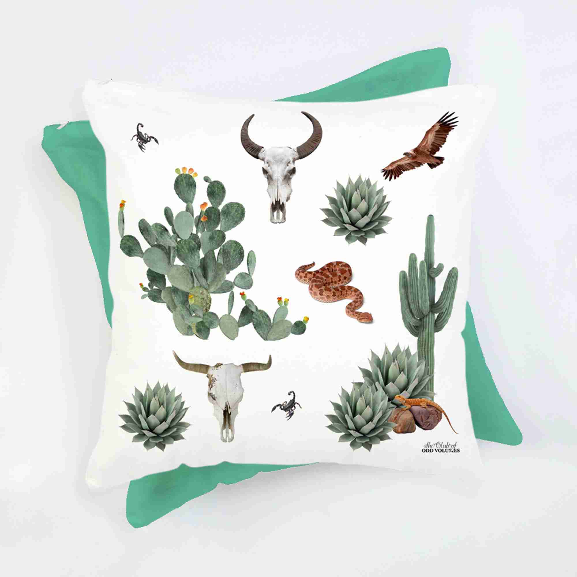 Quirky Cushion Desert Cushion With Insert By Club Of Odd
