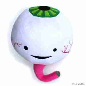 Eyeball Plush by I Heart Guts