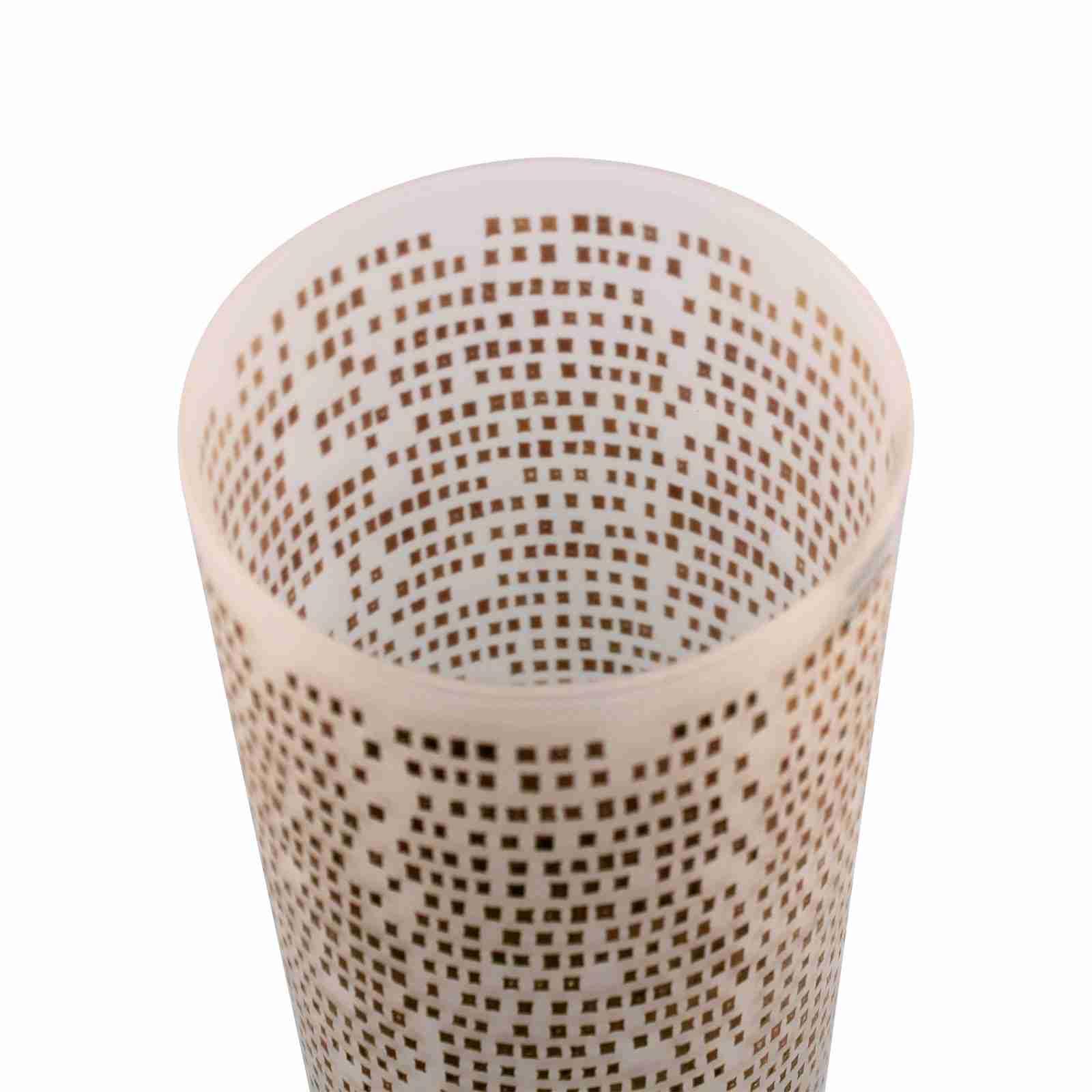 "Elegant Egizia Luxury Vase ""M2 Jalino"" in Gold"