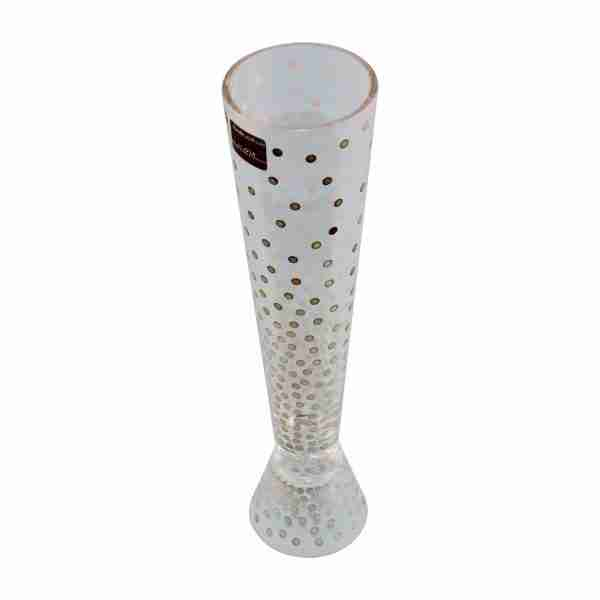 Elegant Egizia Luxury Candleholder or Vase Upside Down in Silver
