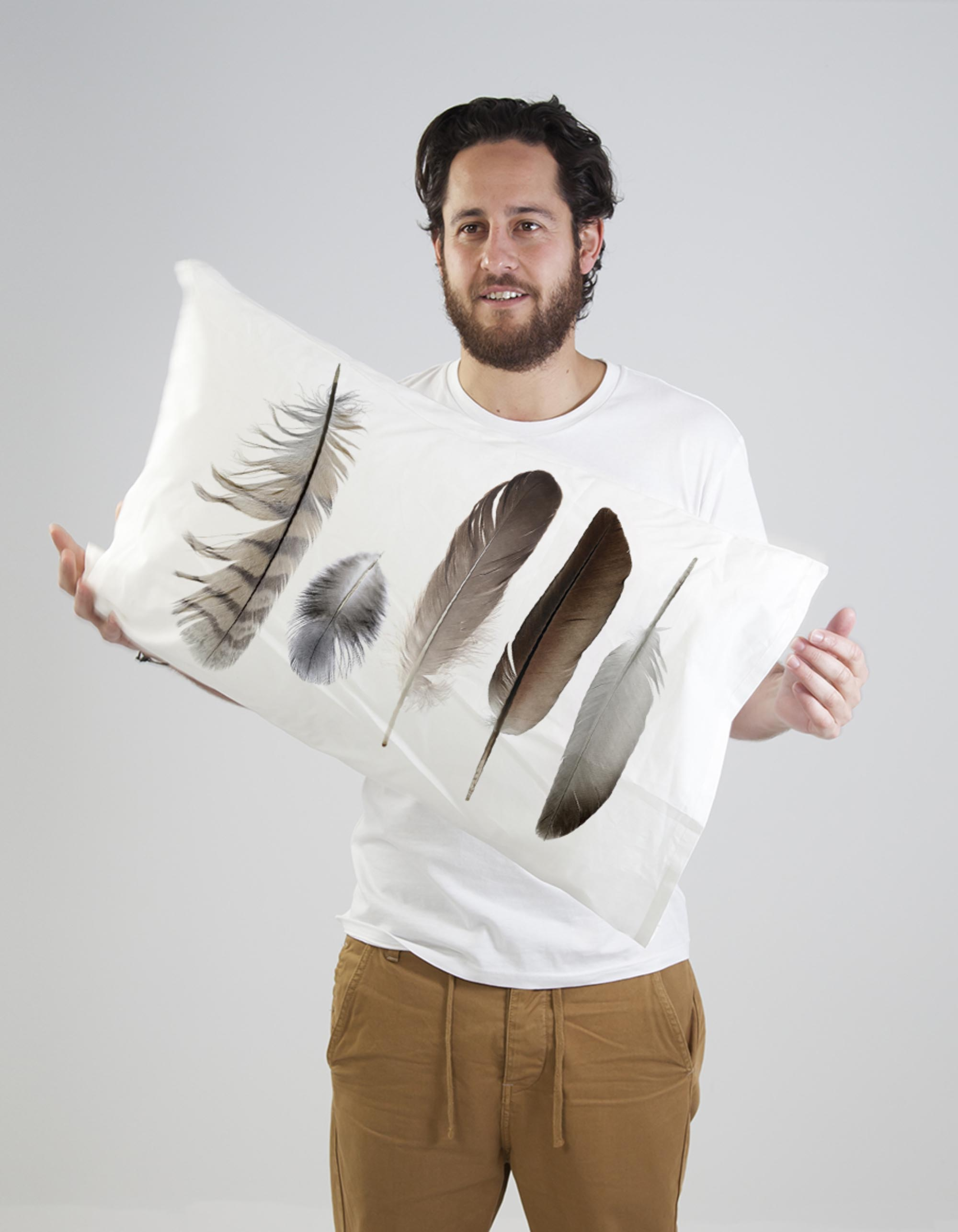 Quirky Cushion Feather Collection Pillow Set By Club Of
