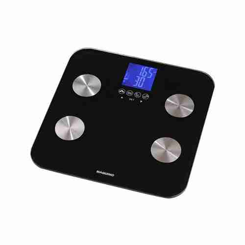 Multi-Function Body Analysis Bathroom Scales GBF835: Black