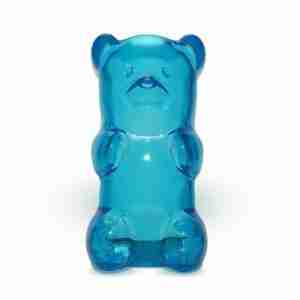 The Gummylamp: Squeezable Blue Gummy Bear Lamp