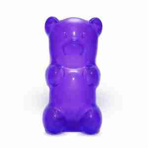 The Gummylamp: Squeezable Purple Gummy Bear Lamp