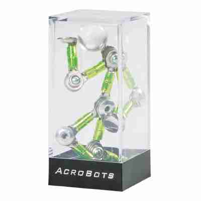 Acrobots the Magnetic Action Figure in Blue, Red, Yellow or Green