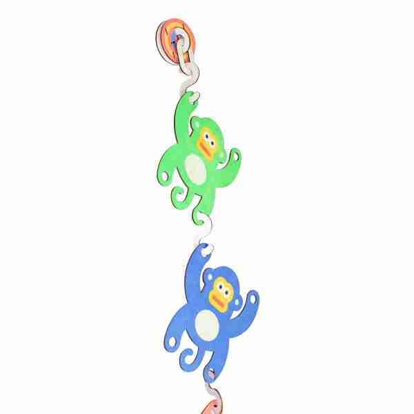 Monkeys 3D Hanging Art by Art Thingys