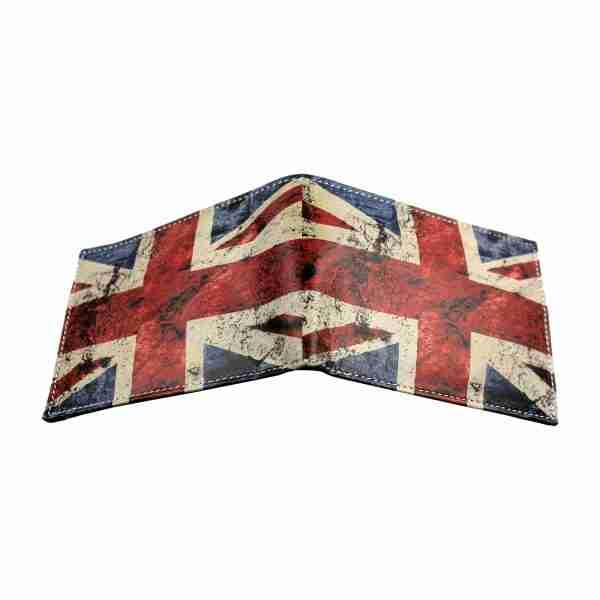 Union Jack Soft Leather Pop Wallet by Studio Manhattan