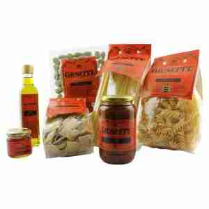 Gourmet Food Hamper - Italian Pasta and Sauces Gift Set
