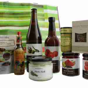 Gourmet Food Hamper - BBQ and Condiments Set