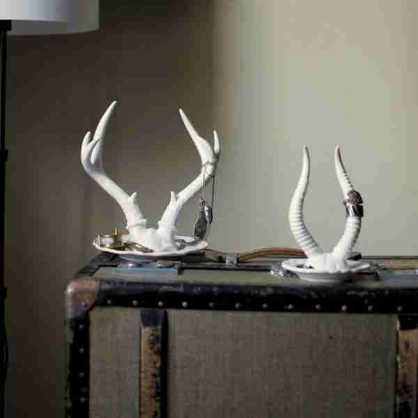 Royal Tyne Jewellery Dish Deer Horns