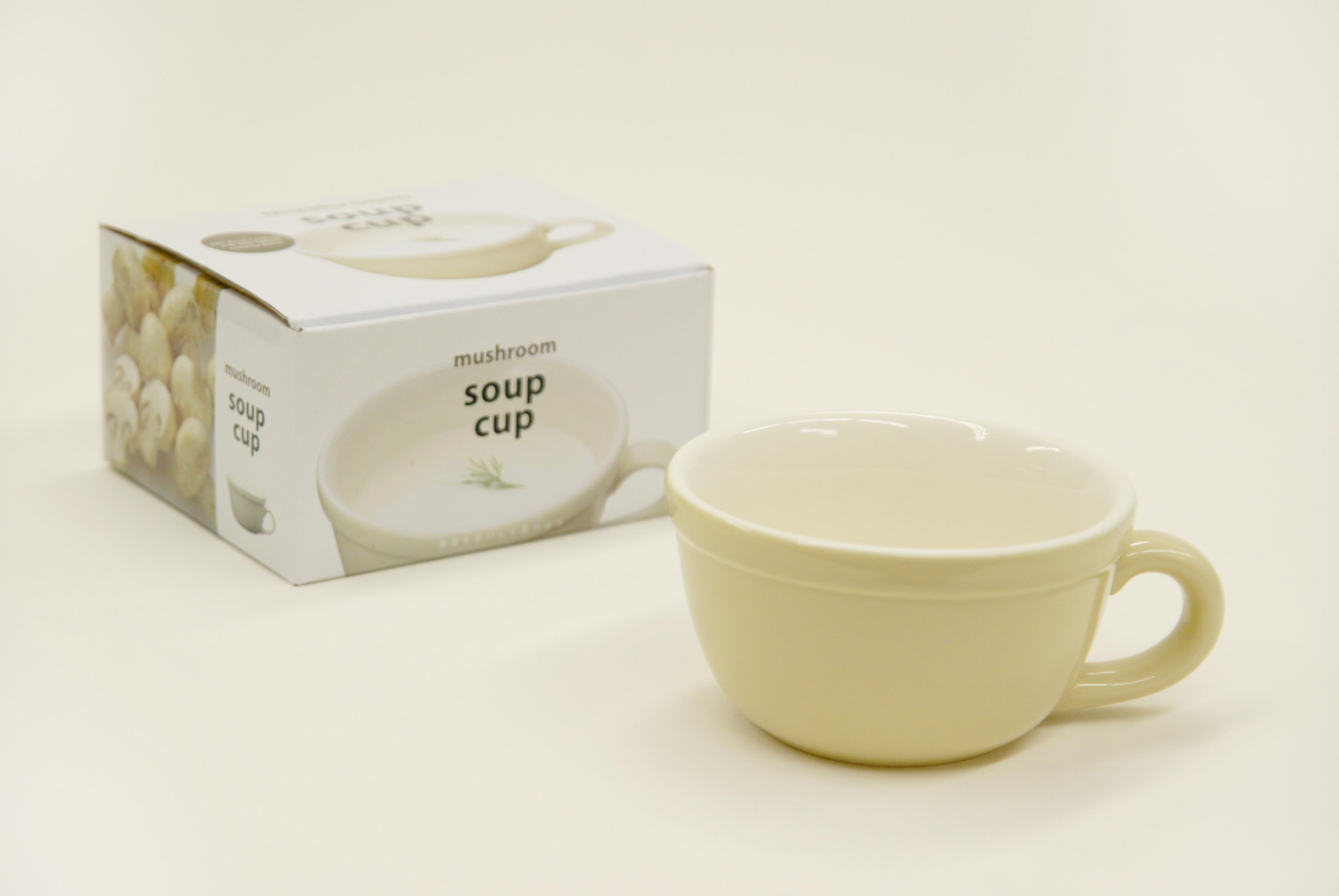 Rustic Set of 5 Handmade Soup Cups by Kinto Japan