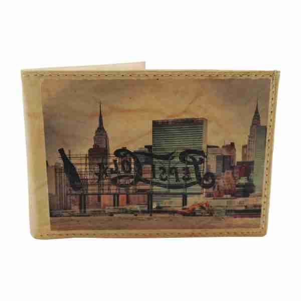 New York Thin Leather Wallet by Studio Manhattan