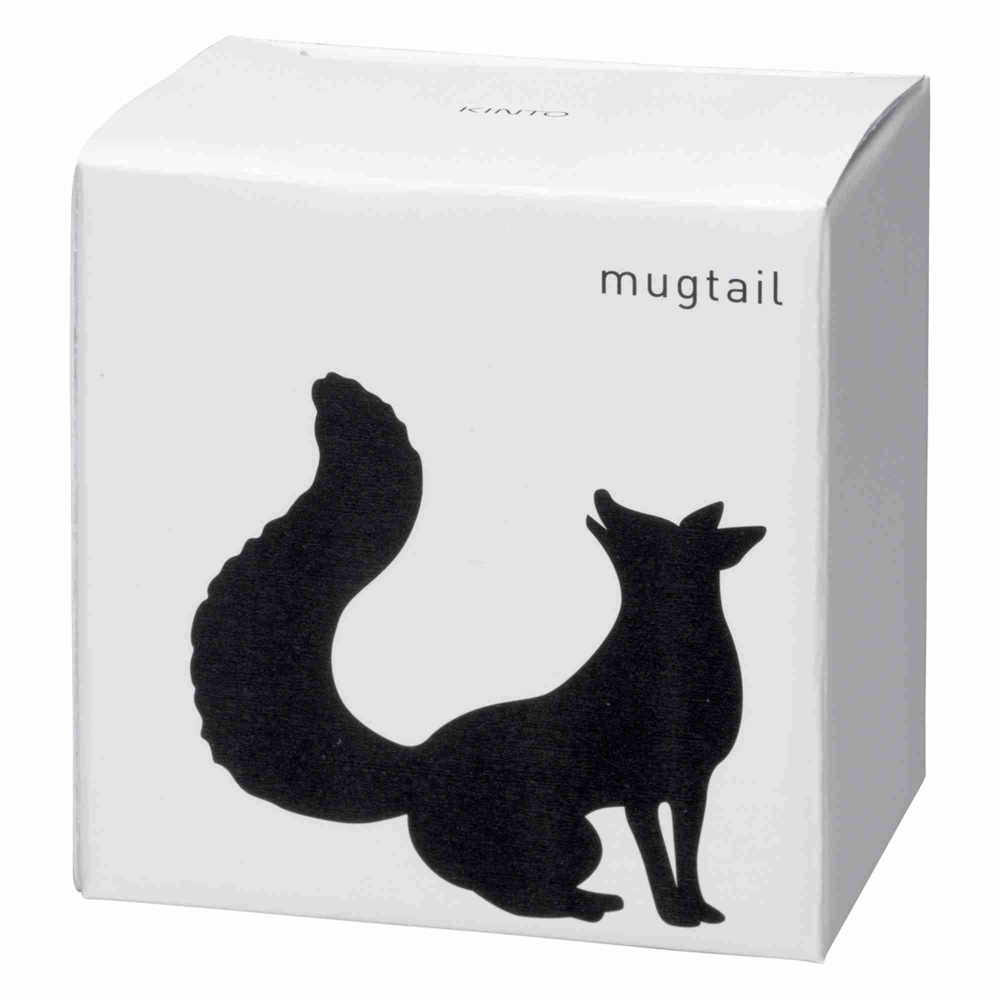 Mugtail Cat in Fine Porcelain by Kinto Japan