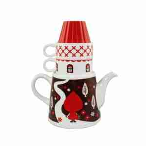 Red Riding Hood Forest House Tea for Two by Otogicco Decole