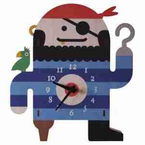 Popclox Pirate 3D Art Clock by Art Thingys
